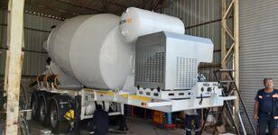 new EXPOTRAILER 12 M3 concrete mixer semi-trailer