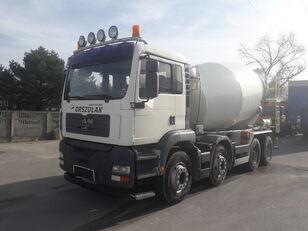 Liebherr  on chassis MAN TGA-32.410 , 8X4 Liebher concrete mixer truck