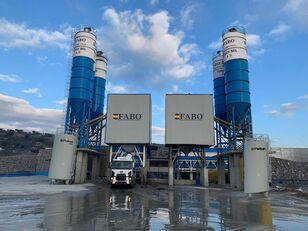 new FABO POWERMIX-200 STATIONARY CONCRETE BATCHING PLANT concrete plant