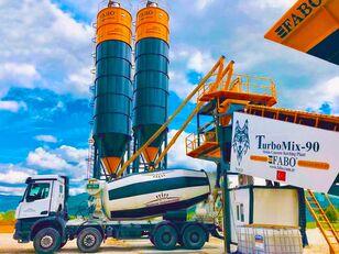 new FABO TURBOMIX-90 MOBILE CONCRETE PLANT HIGH QUALITY 90 M3/H concrete plant