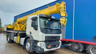 new DAK Cat  T12 QY18 K5  on chassis VOLVO FE 250 mobile crane