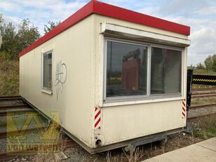 ONBEKEND 10 x 3 meter Kabel systeem office cabin container