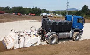 new MAN TGS 18.480 mit Wirtgen WS 250 recycler