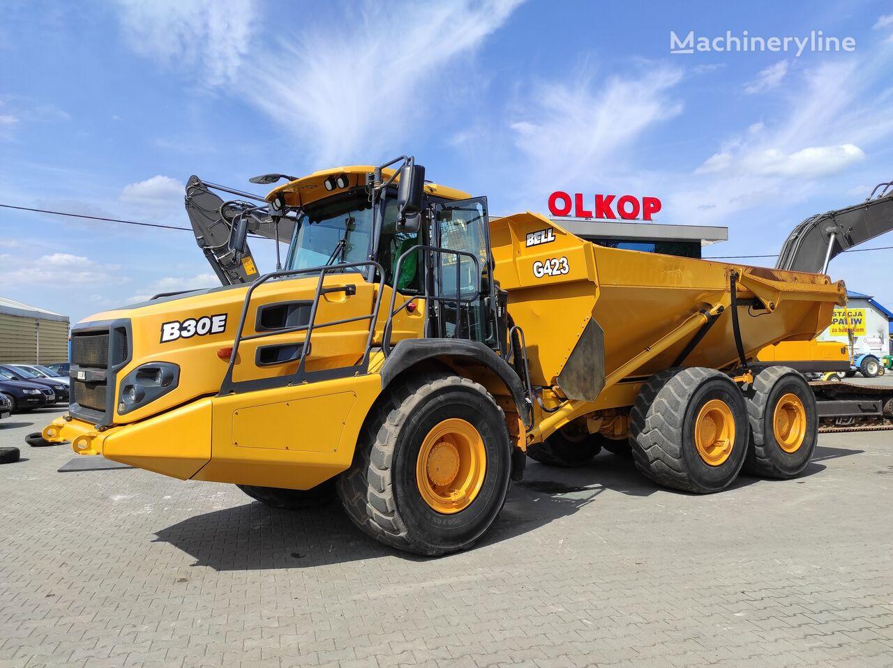 BELL B30 articulated dump truck