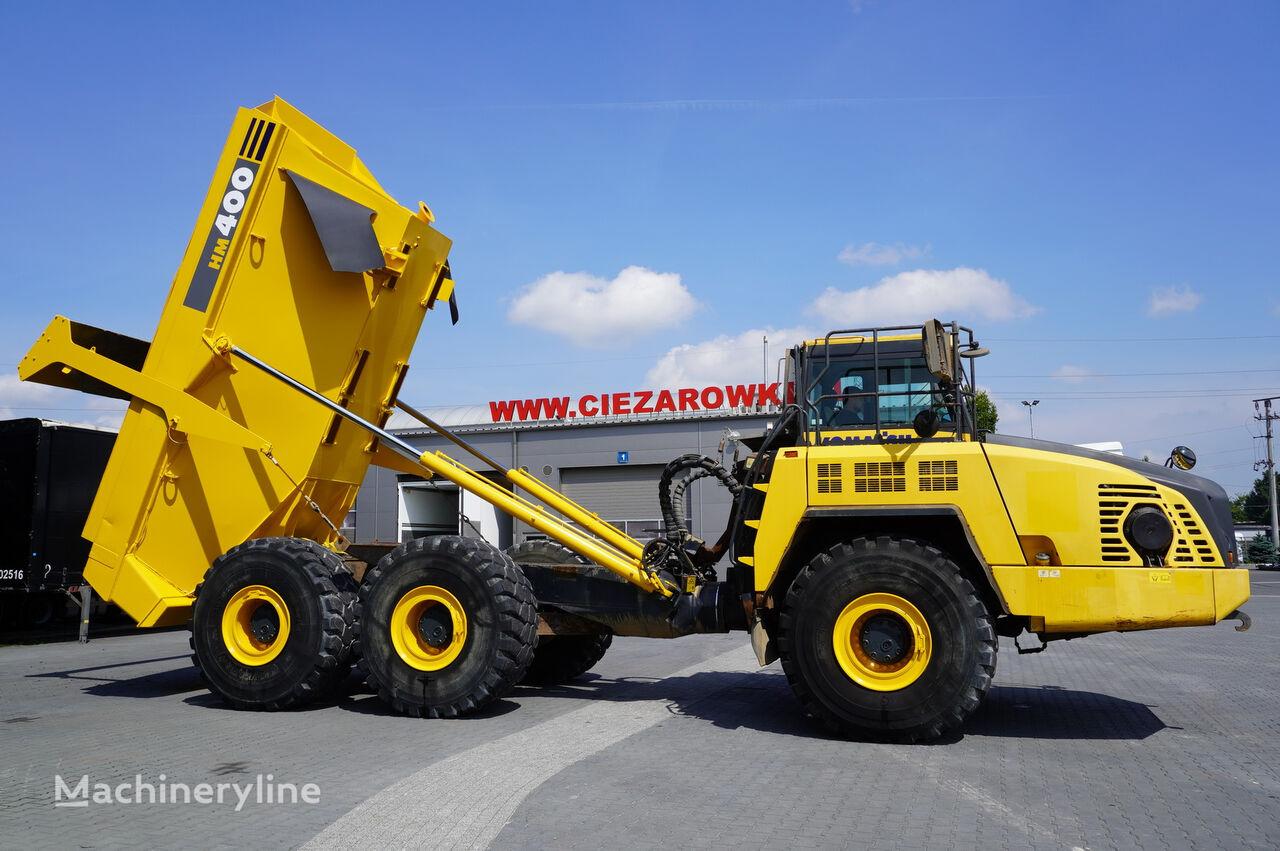 KOMATSU HM400-3 , 34t , 6X6 , 24m3/40t load , ROPS , CE  articulated dump truck