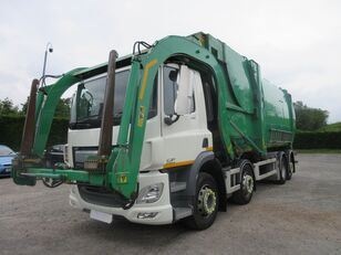 DAF CF440 32 TON 8X2 AUTO TWIN STEER / REAR STEER NTM FRONT LOADER R garbage truck